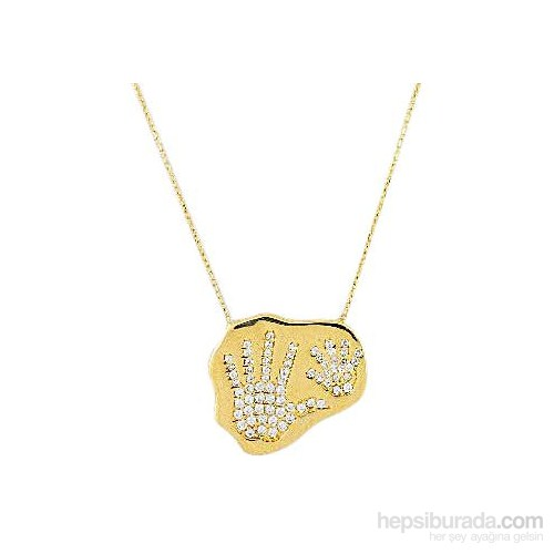 Melis Gold Altın El Kolye Kly00821