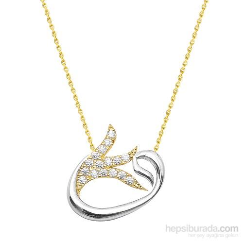 Melis Gold Altın Vav Kolye Kly00850