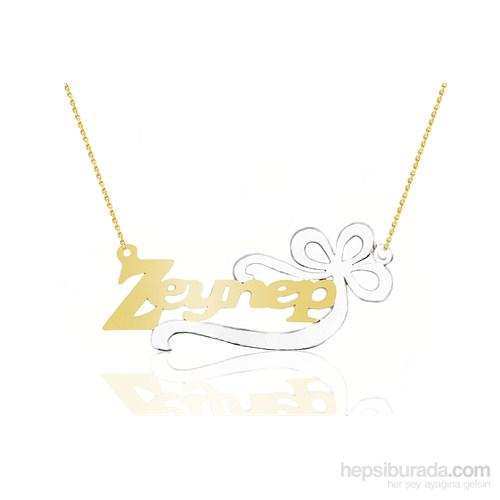 Melis Gold Altın İsim Kolye Kly1001