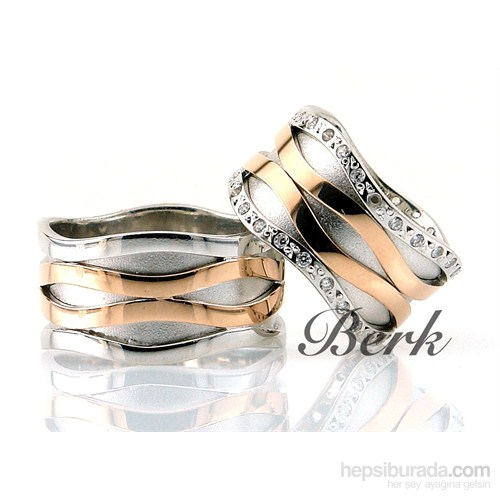 Berk Kuyumculuk Gümüş Alyans 5583 (Çift Fiyatı)