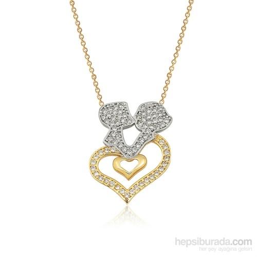 Altınsepeti Altın Kalpli Sevgili Kolyesi As831kl