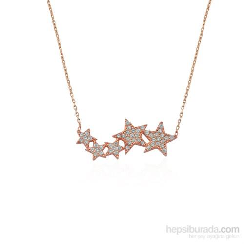 Glorria 925 Ayar Gümüş Yıldız Kolye
