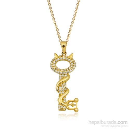 Altınsepeti Altın Taşlı Anahtar Kolye As832kl