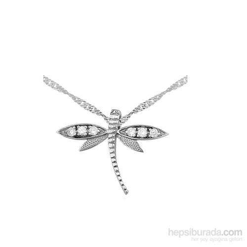 Altınsepeti Gümüş Rodyum Kaplama Yusufçuk Kolye Tg298