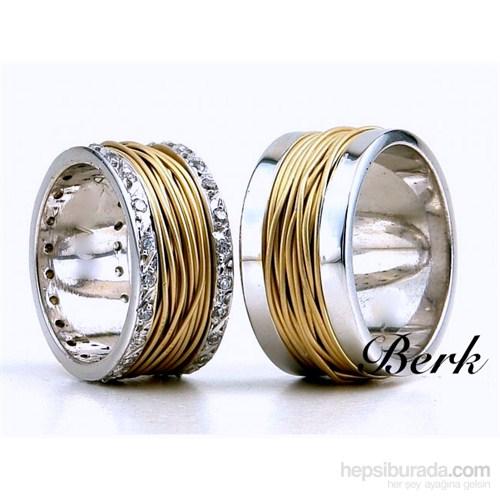 Berk Kuyumculuk Gümüş Alyans 5610 (Çift Fiyatı)