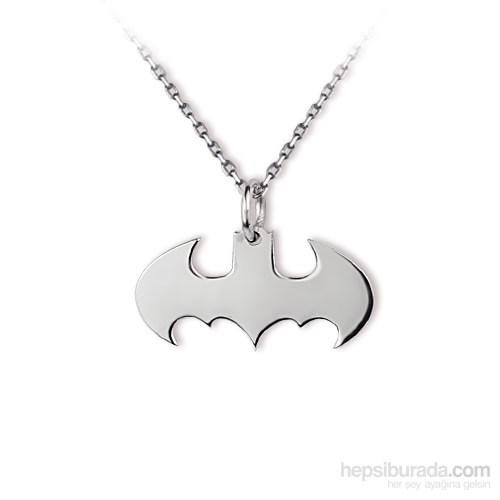 Ejoya Batgirl Gümüş Kolye