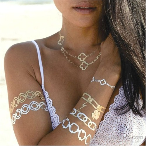 Chıctat Forever Lyda Mücevher Dövme Takı 4 adet 14*21 cm