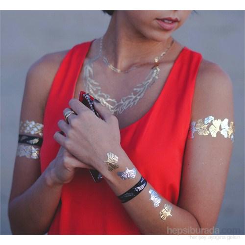 Chıctat Mıss Bohemıan Mücevher Dövme Takı 4 adet 14*21 cm