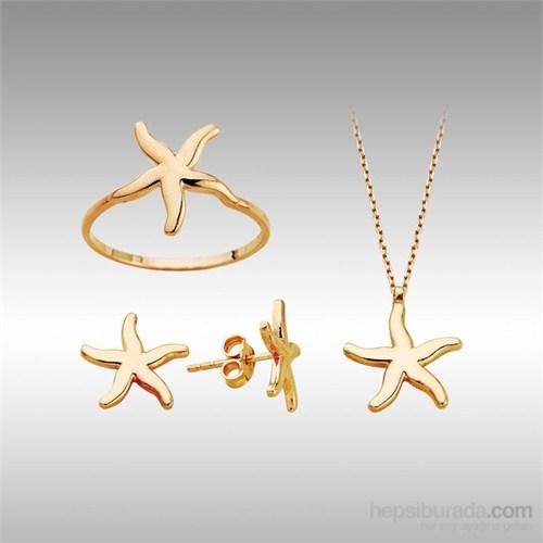 Sheamor Deniz Yıldızı Altın Set