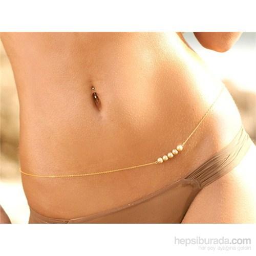 Takıcadde 5 İncili Bel Vücut Bikini Zinciri - 2015 Yeni Yaz Trendi