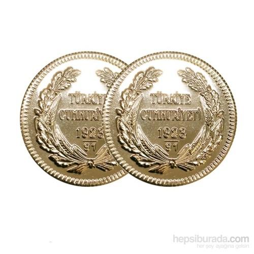 2'li Ata Lira Altın Paketi 93.yıl - Aynı Gün Kargo Avantajı