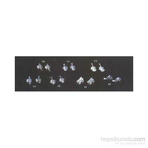 Gümüş Kaplama Enstrümanlı Küpe Çeşitleri