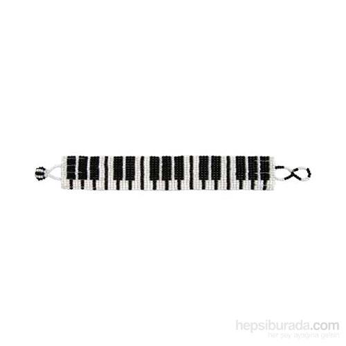 Piyano Tuşeli Boncuklu Bileklik