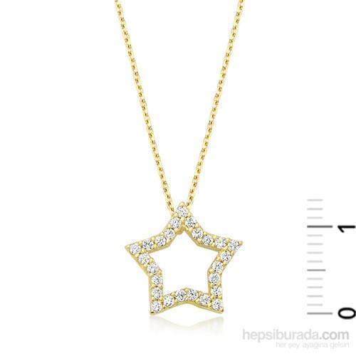 Diva Altın Yıldız Kolye