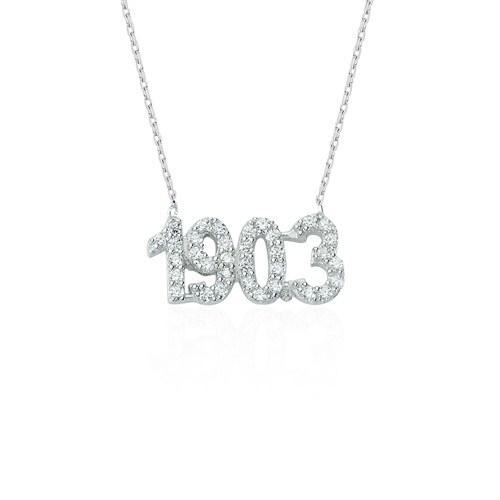 Glorria Gümüş 1903 Kolye