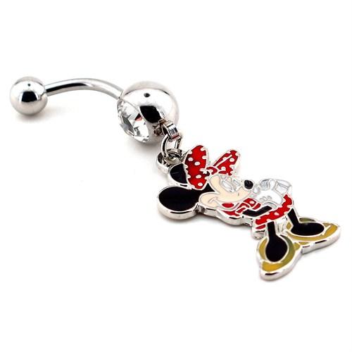 Solfera Mickey Mini Mouse Göbek İçin Pıercıng P270