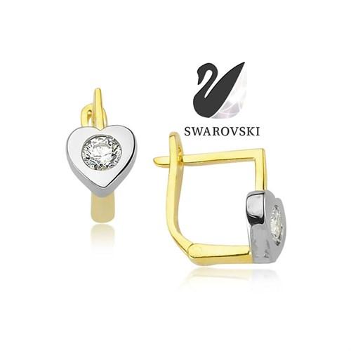 Swarovski Love Küpe