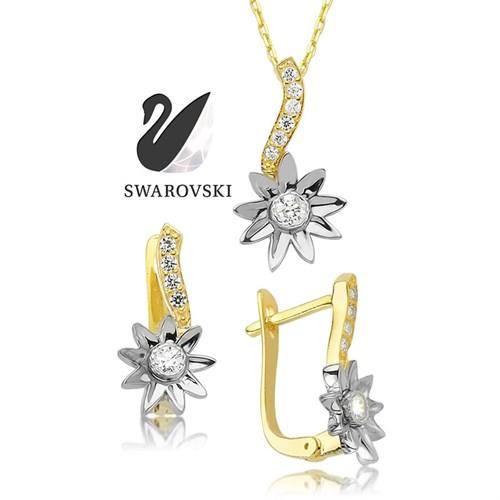 Swarovski Sunflower İkili Set