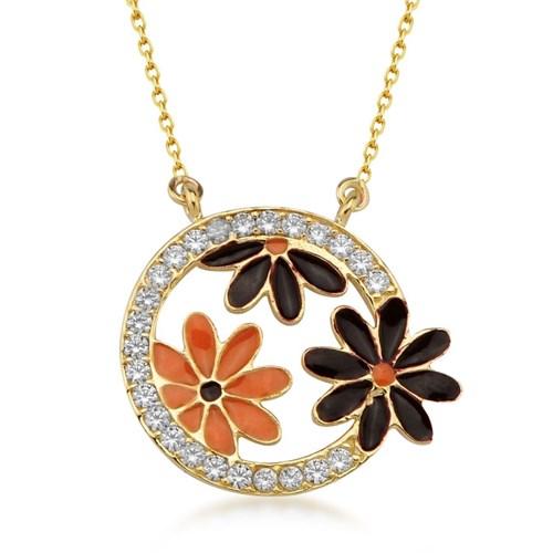 Goldstore 14 Ayar Altın Çiçek Kolye Gp39062