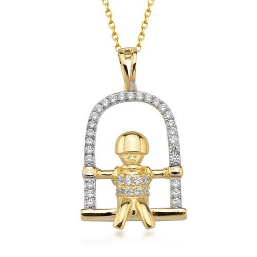 Goldstore 14 Ayar Altın Çocuk Kolye Gp39068