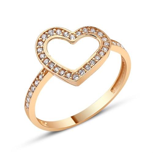Altınsepeti Altın Kalp Yüzük As149yz