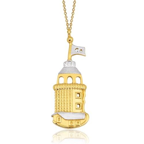 Altınsepeti Altın Kız Kulesi Kolye As870kl
