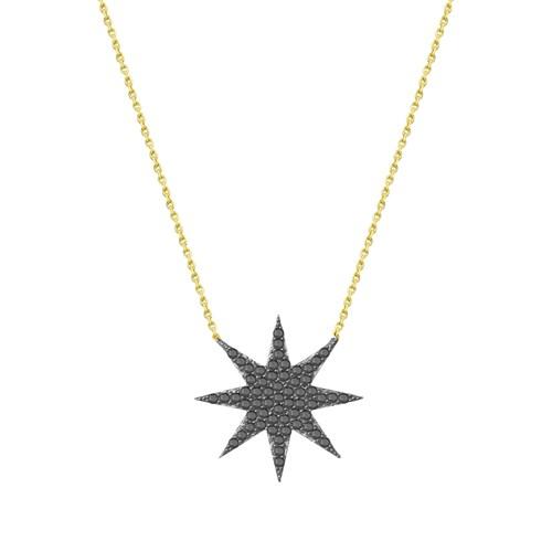 Melis Gold Altın Altın Kuzey (Şimal) Yıldız Kolye Kly00934