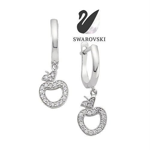 Sheamor Swarovski Apple Küpe