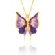 Azuris Kraliçe Kelebek Kolye