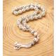 Rachon 925K Gümüş İşlemeli Tesbih