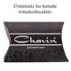 Chavin Unisex Yuvarlak Siyah 7mm Taşlı Çelik Küpe cm24-7