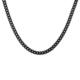 Chavin Traşlı Model Siyah 5 mm. Erkek Çelik Zincir de60