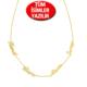 Chavin Gümüş özel Altın kap.3 veya 4 isim Aile kolye bt74sr