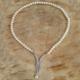 Chavin Gümüş Bronşlu Doğal Sıralı İnci Kolye bd68