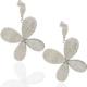 Chavin Çiçek Çelik Küpe be67