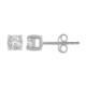 Chavin 0,20 Crt. Pırlanta 14 Ayar Altın Tektaş Küpe cr54