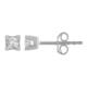 Chavin 0,10 Crt. Pırlanta 14 Ayar Altın Erkek Tektaş Küpe dd60