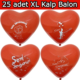 Chavin Seni Seviyorum Evlilik Teklifi 25 adet Kırmızı Kalp Balon