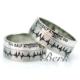 Berk Kuyumculuk Gümüş Alyans 5635 (Çift)