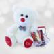 Romantik Hediye Sevimli Peluş Tatlı Alışveriş Sepeti