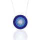 Azuris Silver Mavisi Nano Taşlı Kolye