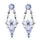Myfavori Yüksek Kalite Uzun Küpe Yeni Moda Kristal Takı Mavi Küpe Takı Çeşitleri