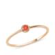 Altınsepeti Rose Altın Yuvarlak Kırmızı Taşlı Yüzük As227Yzr4 18