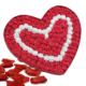 Chavin Kalp Kutulu 165 Adet Kırmızı Beyaz Mini Güller, Gül Yap10