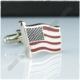 Extore Kol Düğmesi Amerika Bayrak Flag Kd094