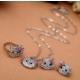 Myfavori Takı Seti Hello Kitty Yüzük Küpe Ve Kolye Set Yeni Moda Takı Online Satış