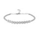 Sitille Beyaz Taşlı Yuvarlak Bilezik W0148B05