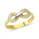AltınSepeti Sonsuzluklu İki Renk Altın Yüzük AS8Y92 18