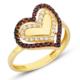 AltınSepeti Kalpli Altın Bayan Yüzük DM85 16