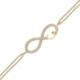 AltınSepeti Altın Vav İşareti Sonsuzluk Bileklik Küçük Boy AS141BL